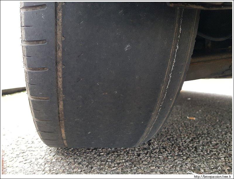 Usure irrégulière pneus arrière Vaisseau_199