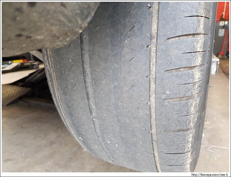 Usure irrégulière pneus arrière Vaisseau_200
